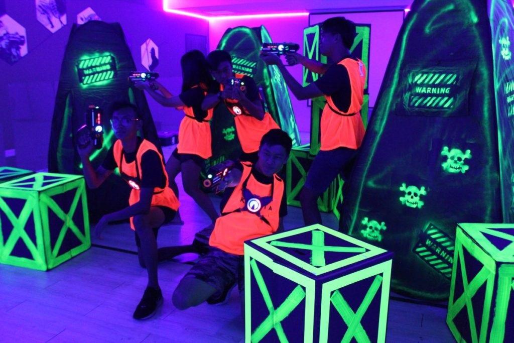 laser tag singapore neon