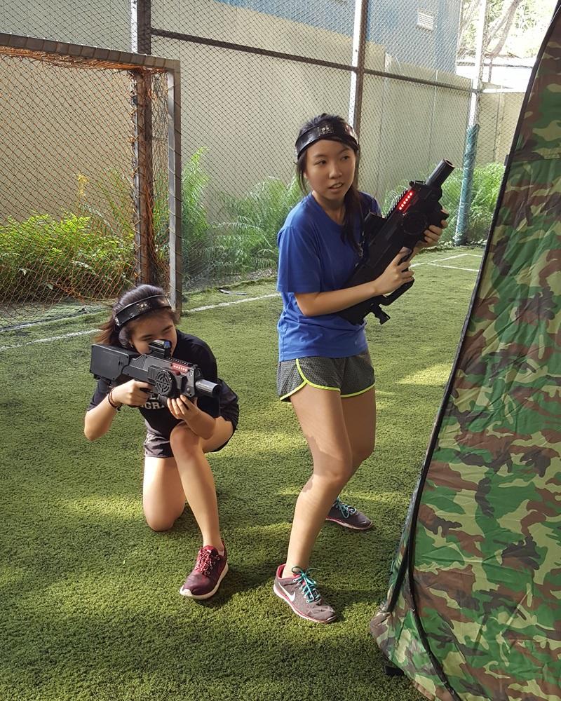laser tag singapore go team