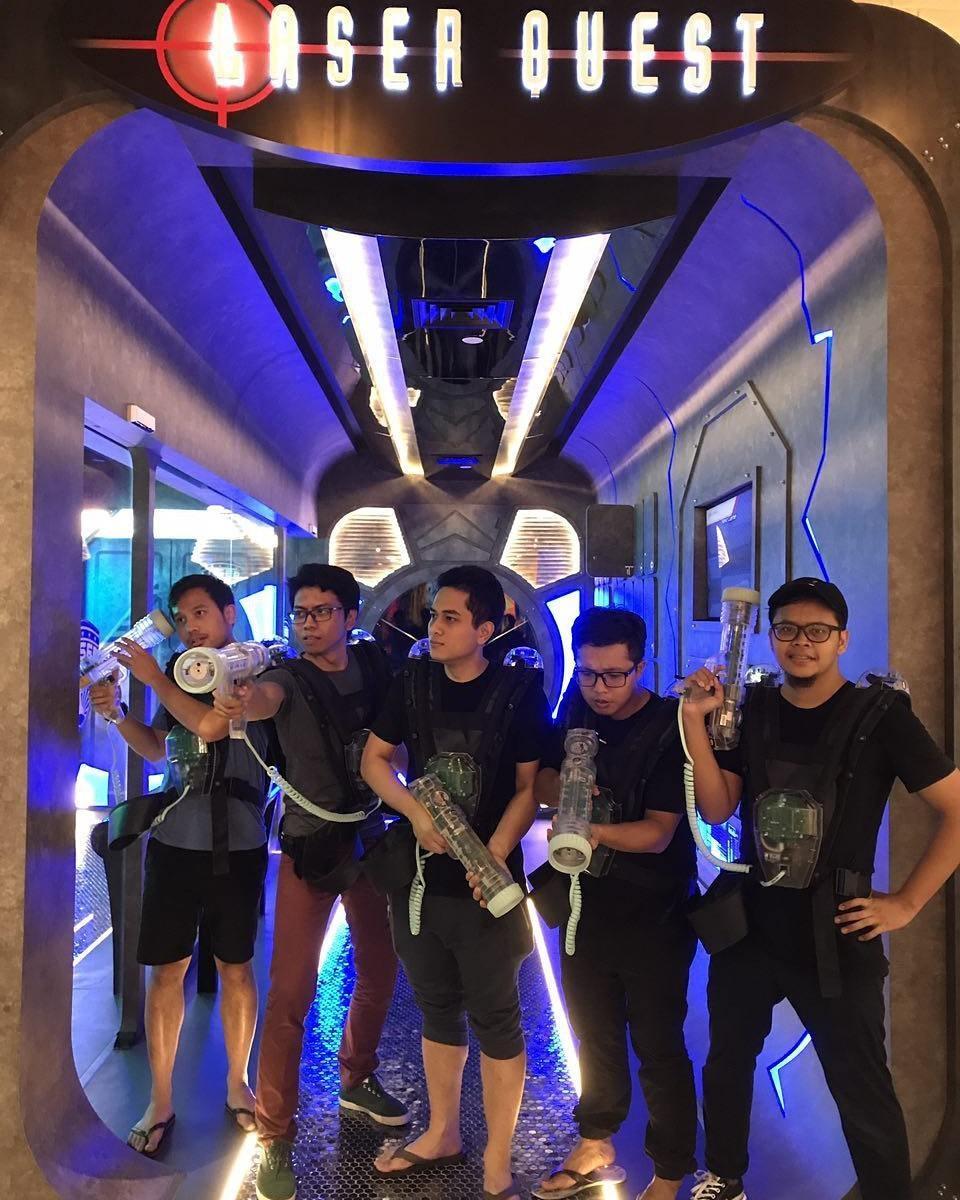 laser tag singapore quest