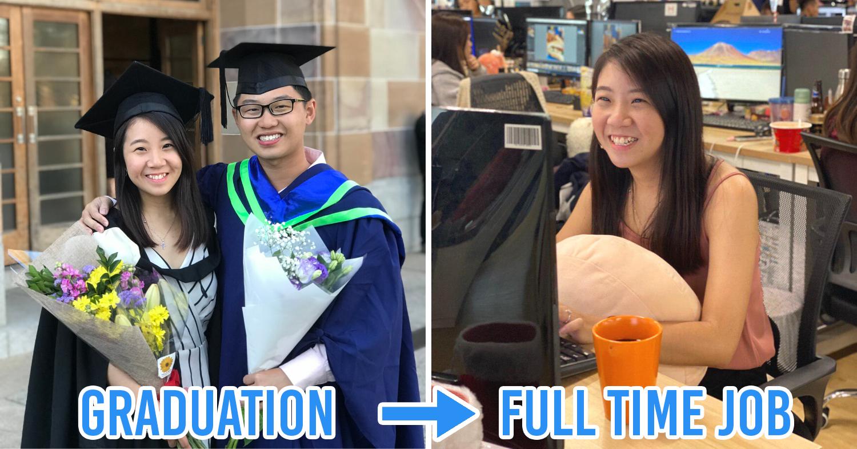 graduation to full time job
