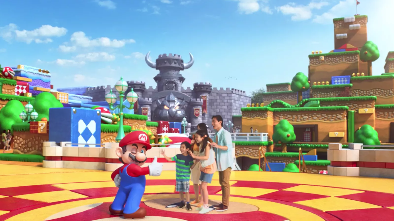 Super Nintendo World Osaka Japan