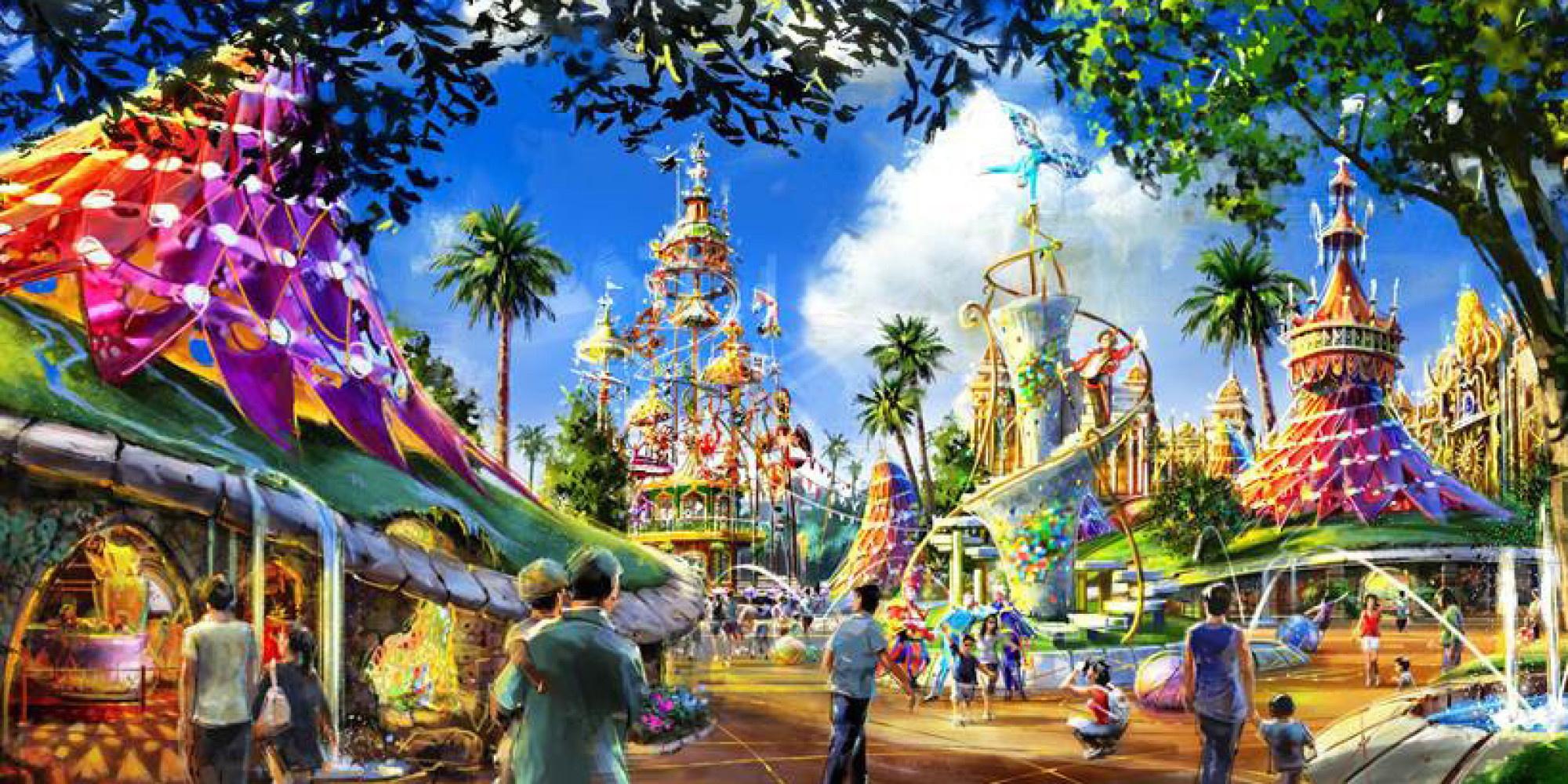 Ubisoft Theme Park Kuala Lumpur Malaysia