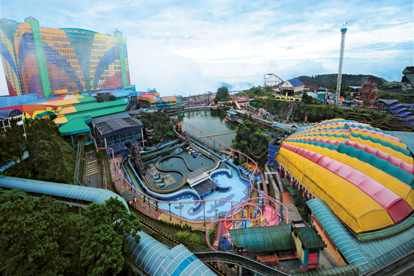 Genting Outdoor Theme Park Malaysia