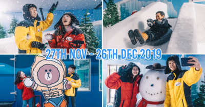 plaza singapura 2019 snow fun house