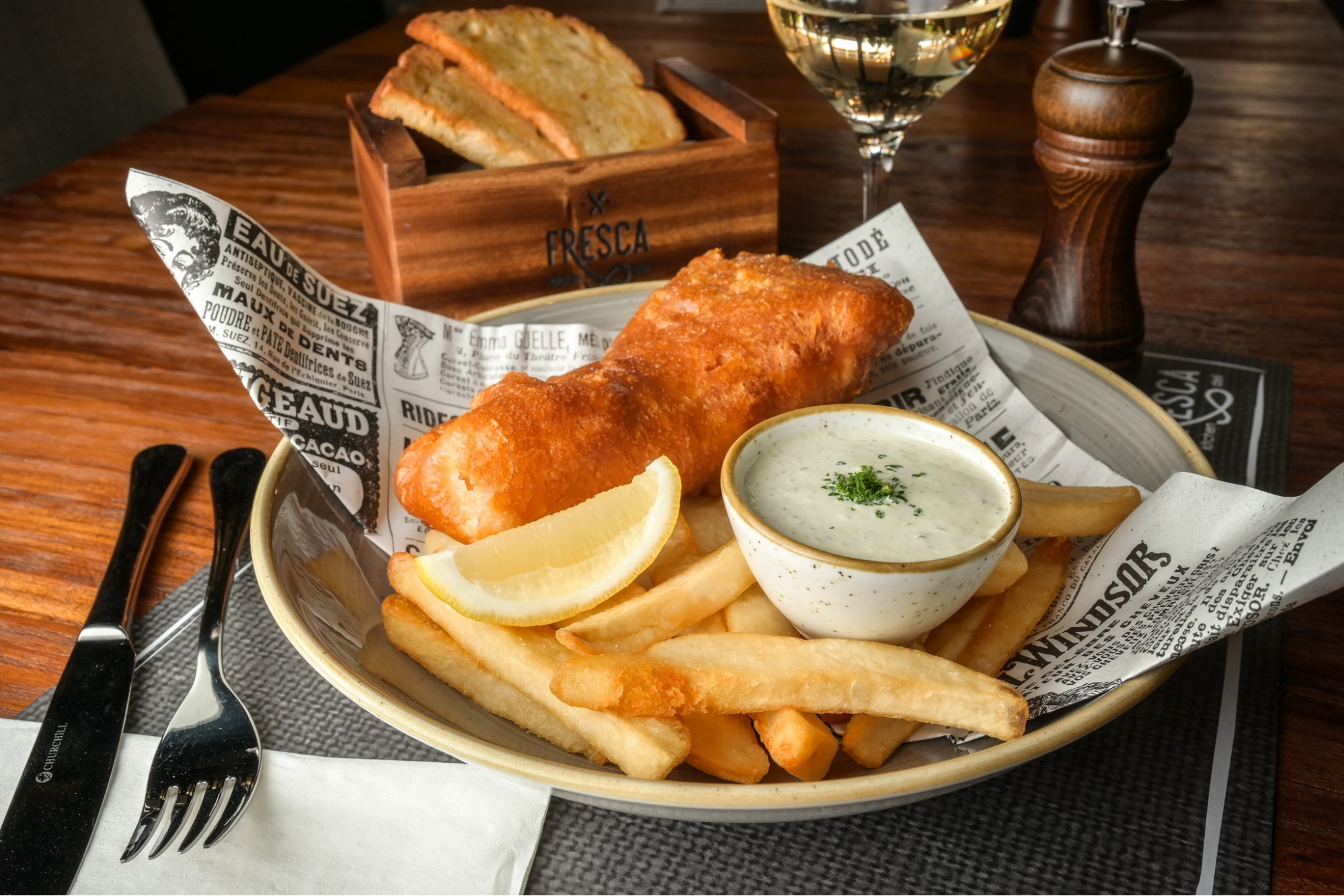 fish and chips Stay Wellbeing & Lifestyle Resort Phuket