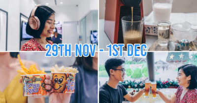 vivocity black friday sale 2019 - cikkage of bose headphone, nespresso machine, jumbo fries, marche movenpick beer