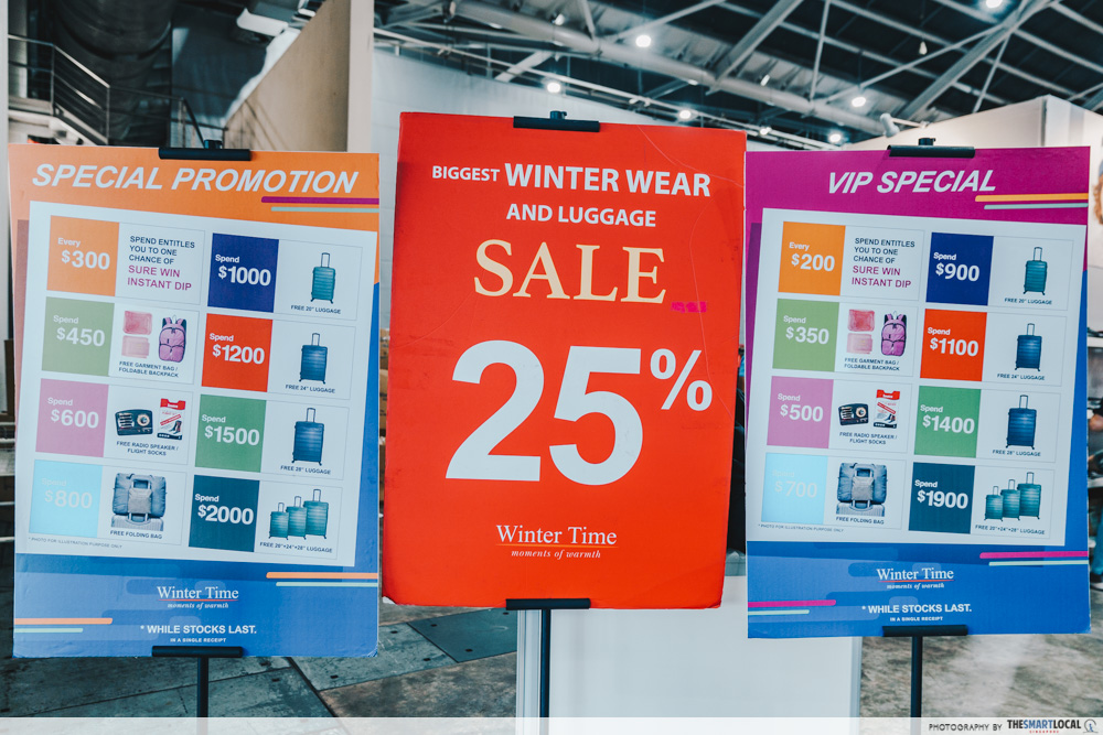 winter time final expo sale - special promotion