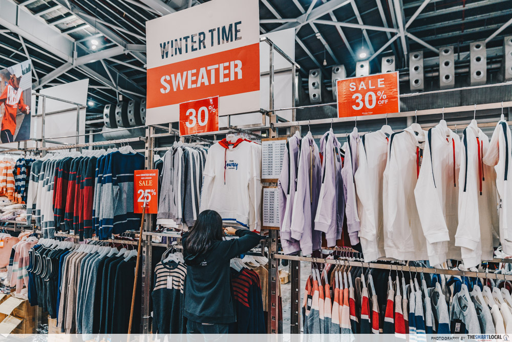 winter time final expo sale - hoodie and sweater
