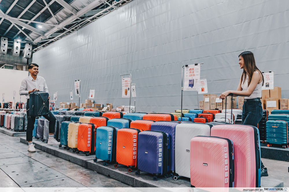 winter time final expo sale - luggage