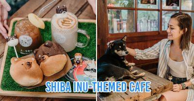 Shiba Inu themed cafe in Hualien