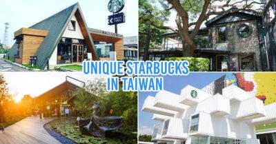 Unique starbucks in taiwan