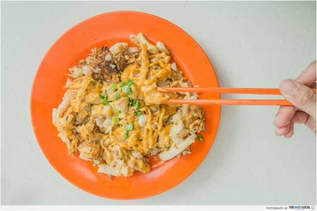 101 things to do in Singapore cheese carrot cake