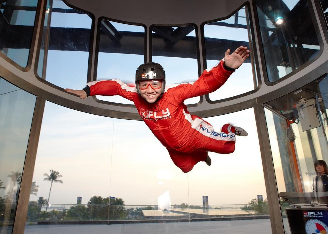 101 things to do in Singapore iFly