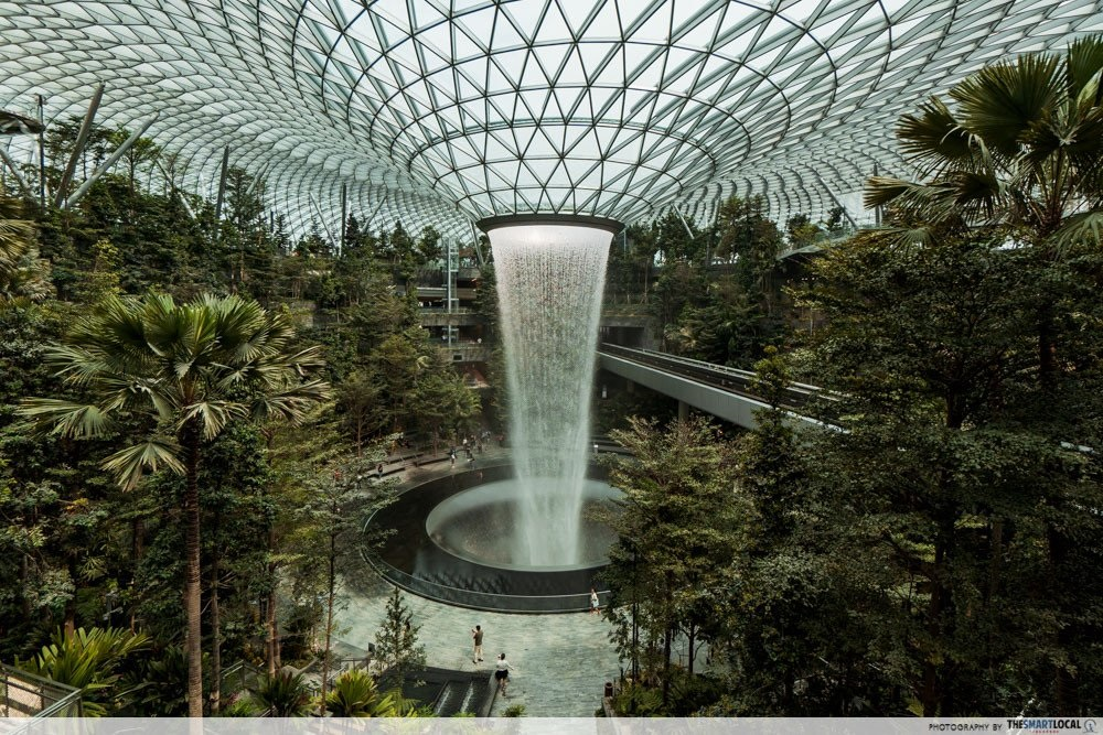 101 things to do in Singapore Jewel Changi
