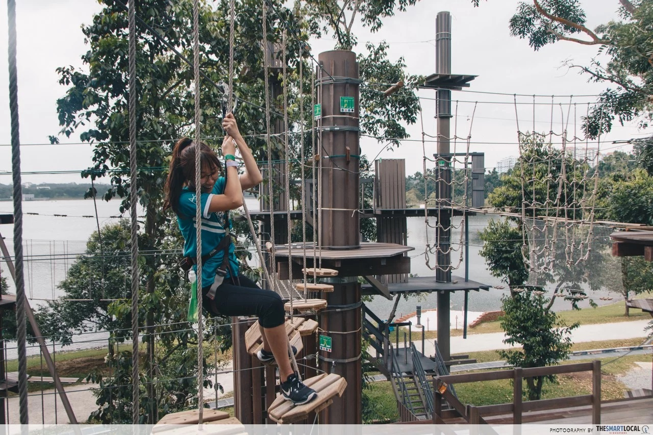 101 things to do in Singapore Forest Adventure