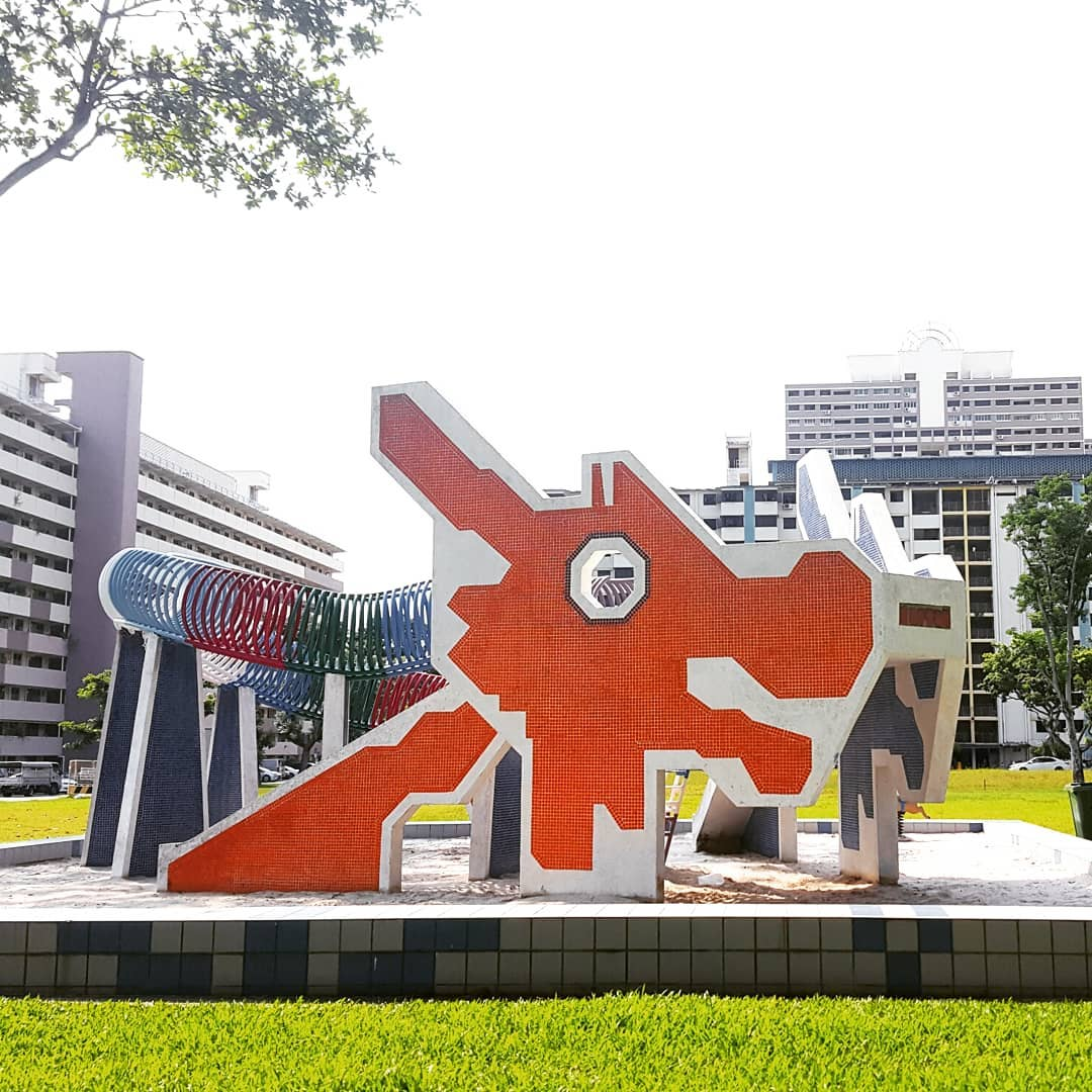 101 things to do in Singapore dragon playground