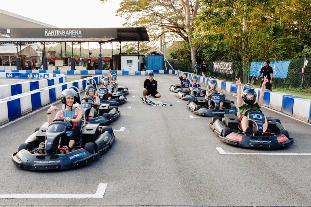 101 things to do in Singapore The Karting Area Maximum Drift Karting Arena