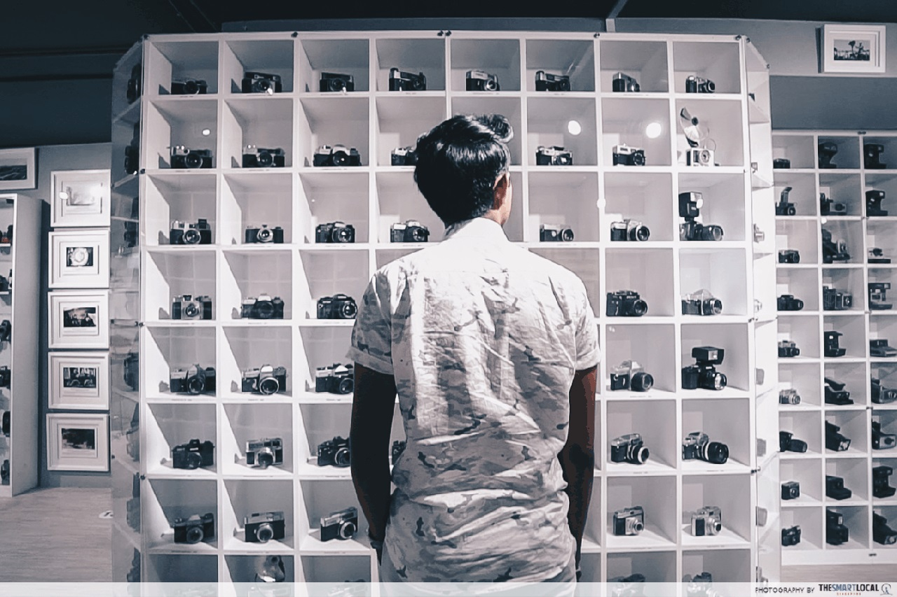 101 things to do in Singapore Vintage Camera Museum