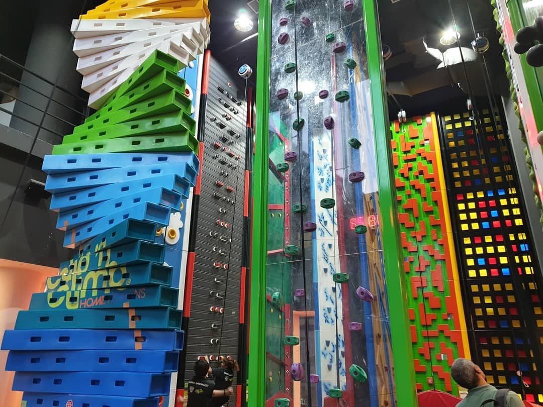 Rock climbing and bouldering