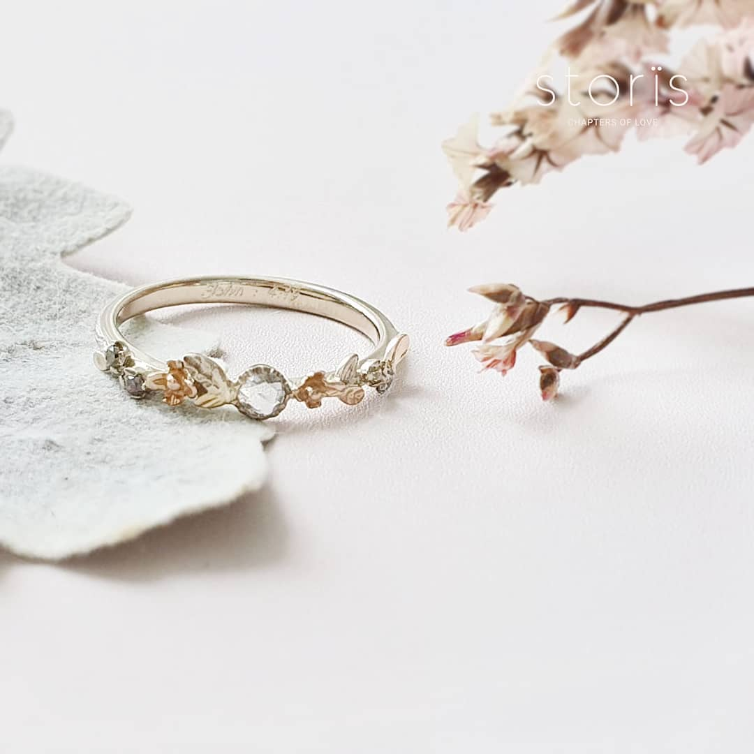 Places to customise wedding & engagement rings in Singapore Storis