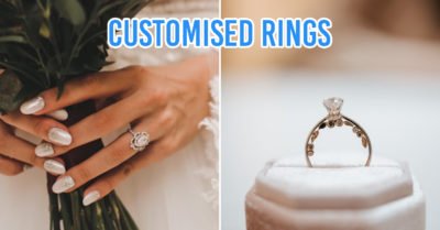Places to customise wedding & engagement rings in Singapore