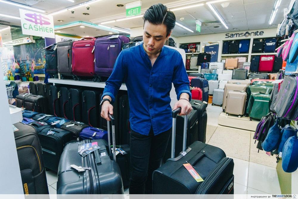Budget Travel Essentials Mustafa Shopping Centre
