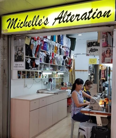 Wedding gown alteration Singapore