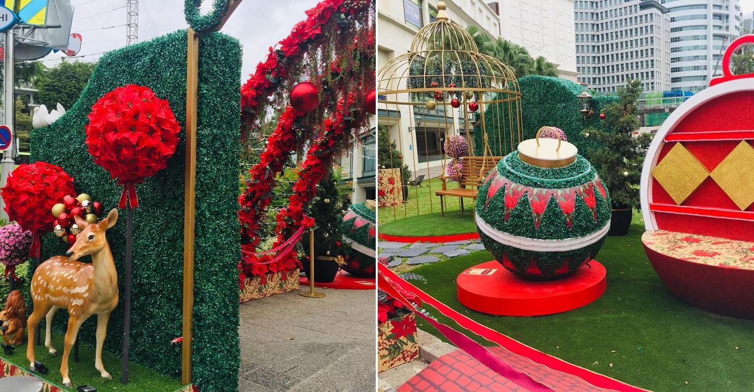 tanglin mall christmas garden
