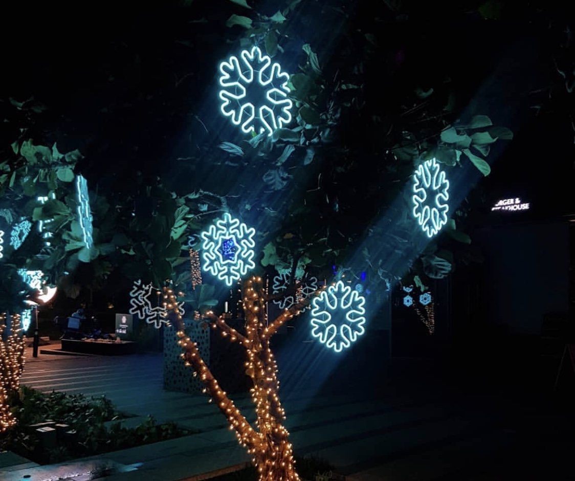 sentosa cove island lights 2019