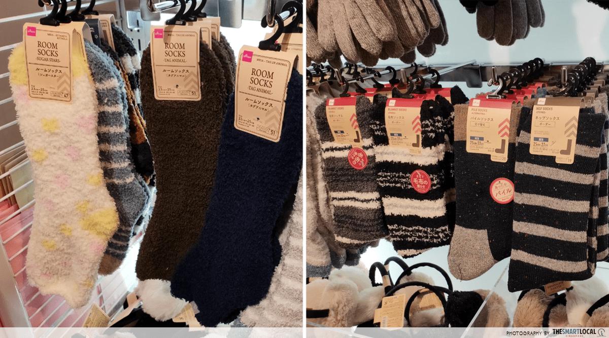 Woollen Socks Daiso Travel Items $2 Singapore