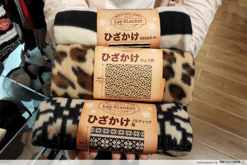 Lap Blankets Daiso Travel Items $2 Singapore
