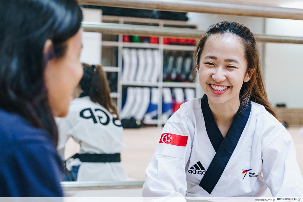 Chelsea Sim Taekwondo Deloitte