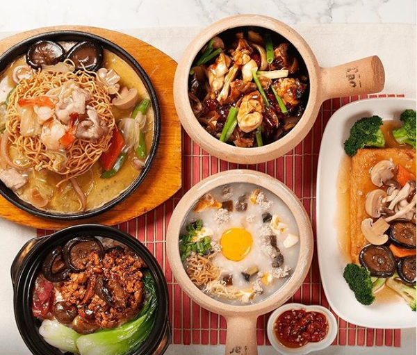 A One Claypot meal