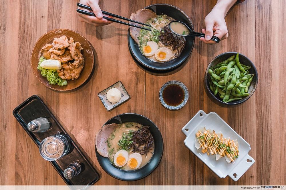 Clarke Quay Central Food Deals Ramen Champion VS Japan Food
