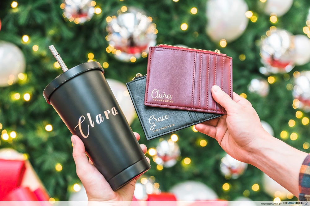 Clarke Quay Central Pouch & Tumbler Personalisation