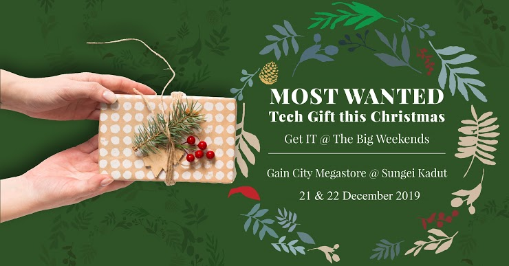 Gain City Christmas Sale 2019 Most Wanted Tech Gifts