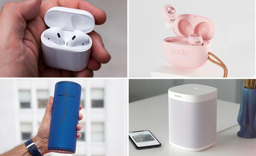 Apple Airpods Sudio Headphones Bluetooth Speaker