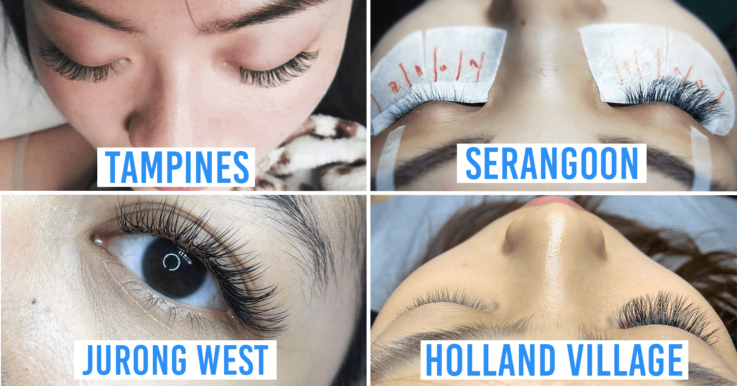 Home-Based Eyelash Extensions in Singapore Compilation