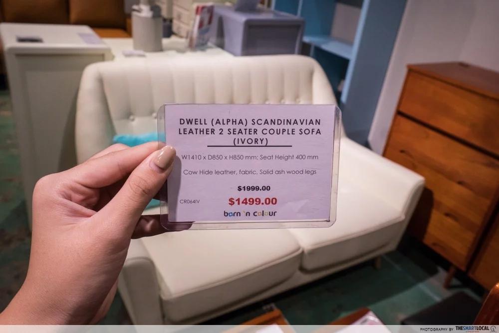 Furniture Shop Price Match Policy Singapore