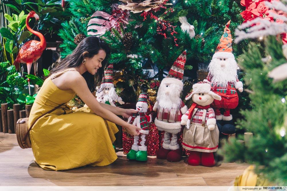 KINEX Mall Daco Christmas Gnomes Wreaths