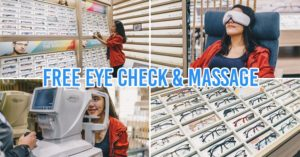 Lenskart free eye check and massage