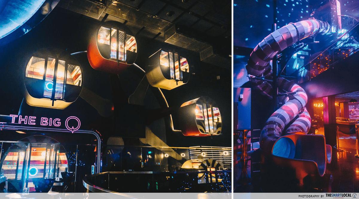 Marquee Nightclub Ferris Wheel Indoor Slide
