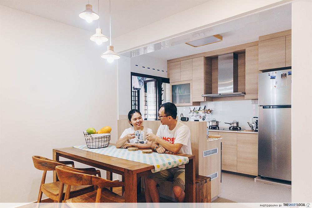 Minimalist Home Renovation Singapore