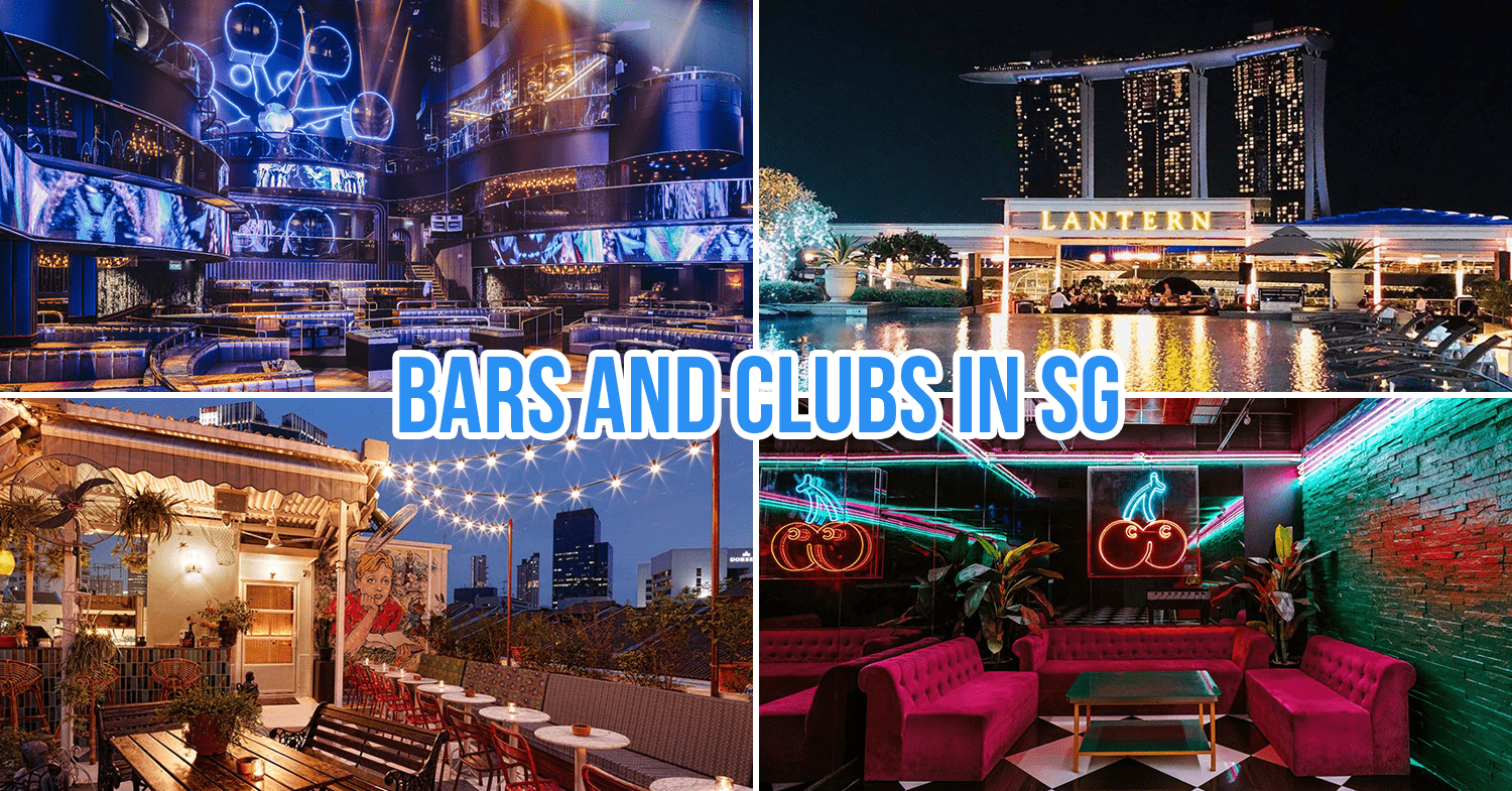 bars and clubs in signapore