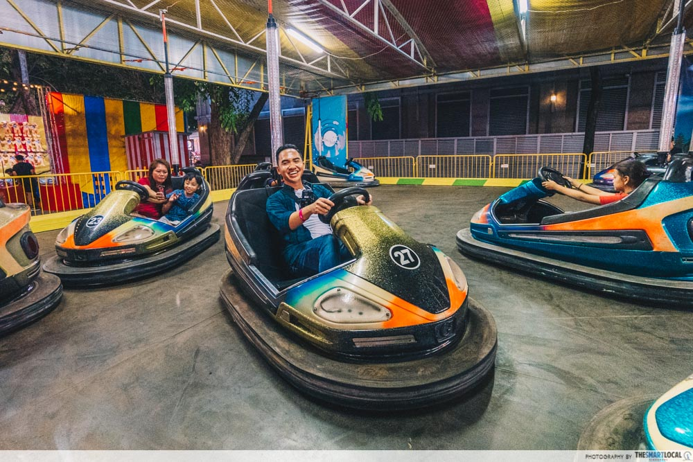 Bumper Cars Orchard Road Christmas Village 2019
