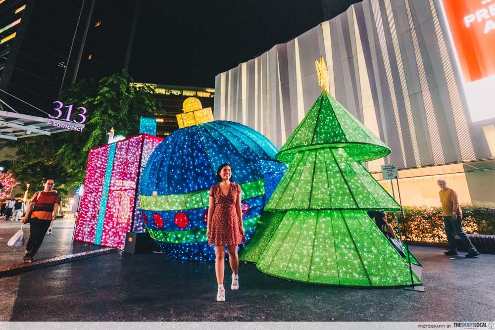 Christmas Lights Orchard Road 2019