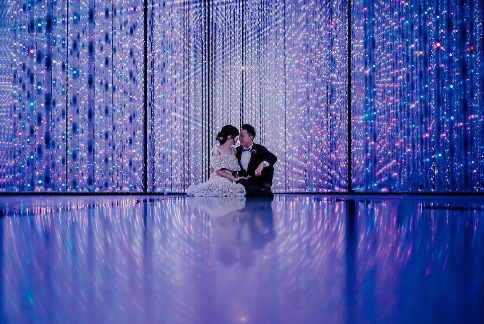 Indoor wedding photoshoot Singapore