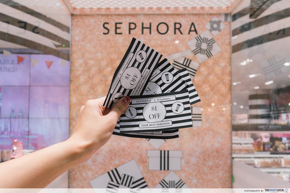 Sephora Wind Tunnel Beauty Dollars