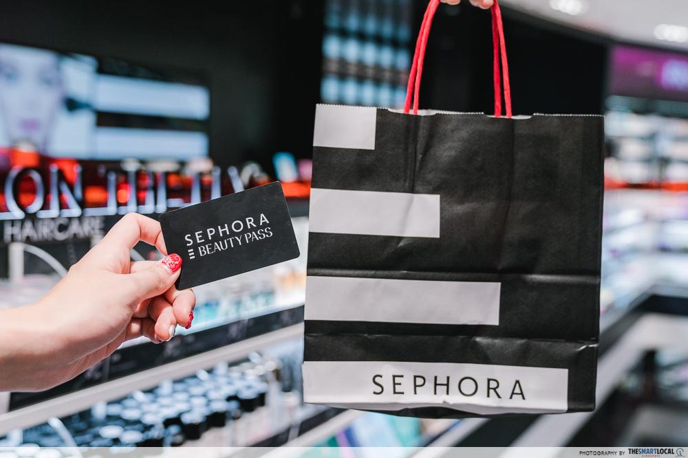Sephora Card Shopping Bag