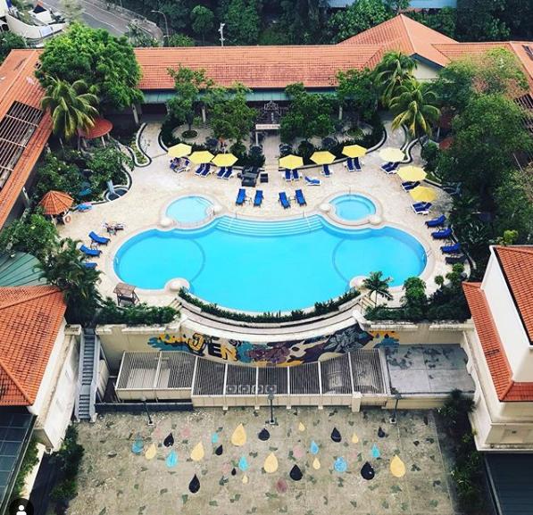 Hotel Jen Tanglin pool